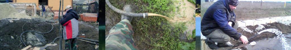 Водоснабжение дома насосы для скважин бурение на воду