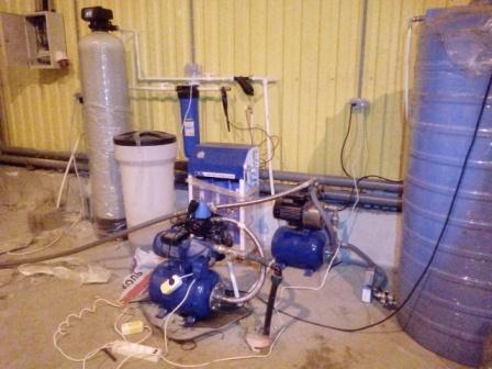 Дом без воды давление в доме