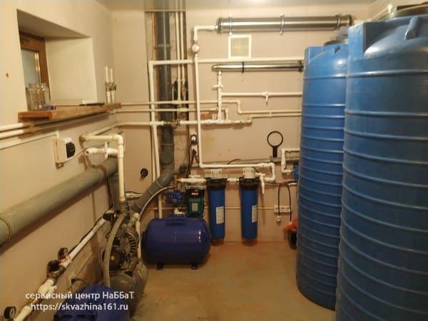 жесткость жесткая вода из скважины фильтры очистка воды