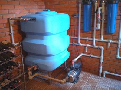 низкое давление повышающий насос водопровод