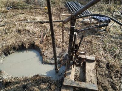Бурение вода скважина