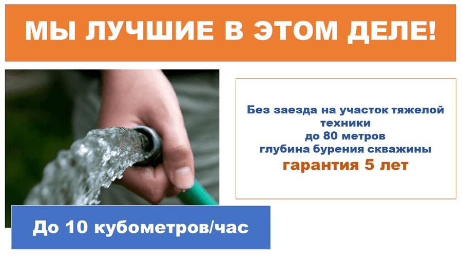 скважина бурение цена за метр стоимость ростовская область