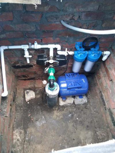 низкое давление маленький напор насос насосная станция вытащить заменить скважина