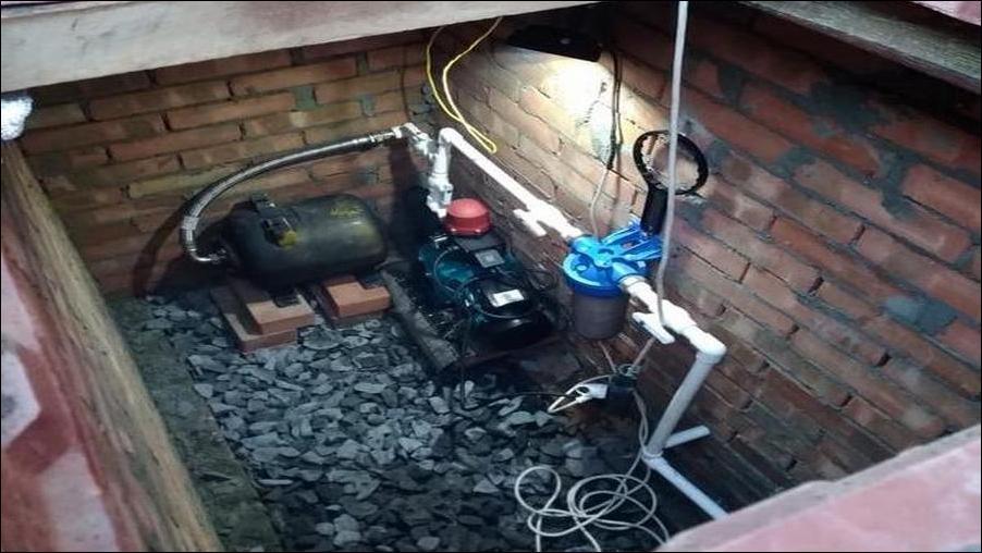 дом вода скважина насос водопровод очистка фильтры Ростовская НаББаТ
