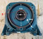 Запасная часть для насосных станций  «LEO» моделей НСС-901, НСС-1101, XKJ-1301IA5 — суппорт № 40026926